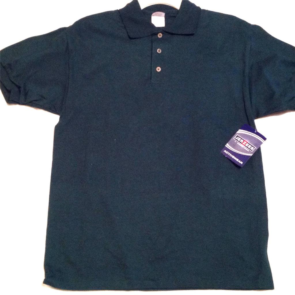 Mens Jersey Sport Shirt 2 Colors Green and Blue Size ...