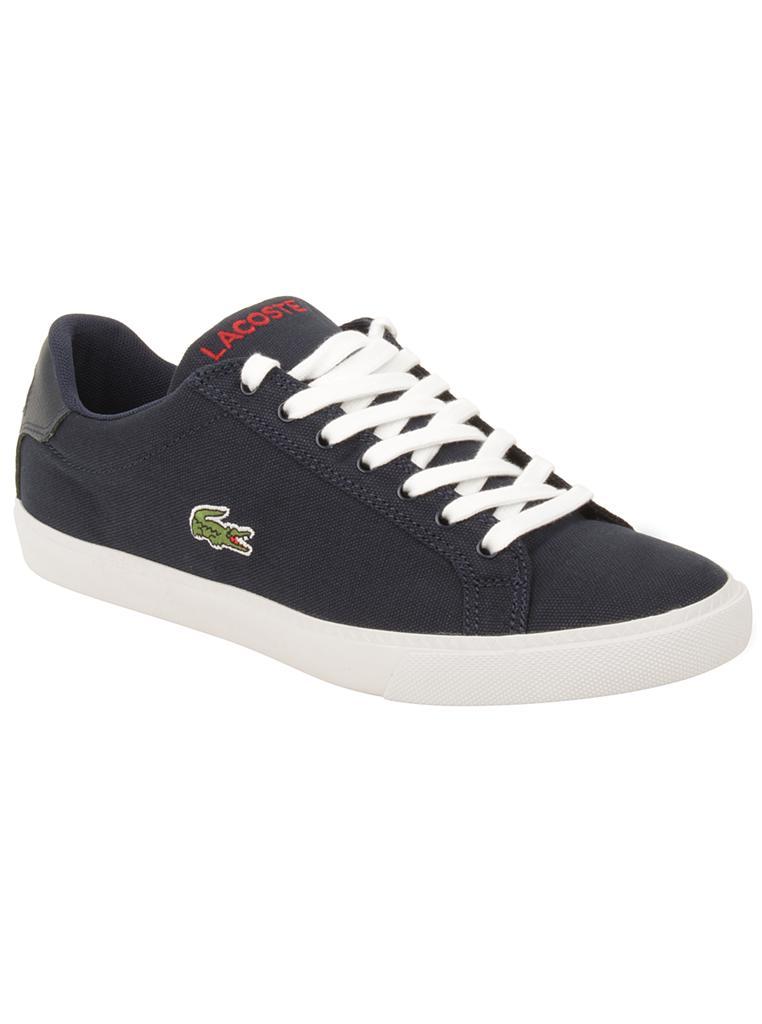 Lacoste-Shoes-Men-Blue-Graduate-Vulc-PB-Canvas-Trainers-Tennis-Shoes-NEW-65
