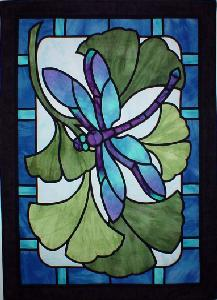 Dragonfly Paradise Three Swans Applique Quilt Pattern Ebay