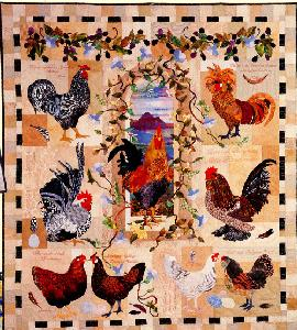 Maggie Walker Fox Chase Fall Autumn Applique 4 Quilt Patterns