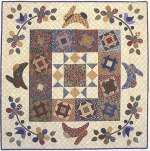 APPLIQUE QUILT PATTERN OF RABBIT - Patterns