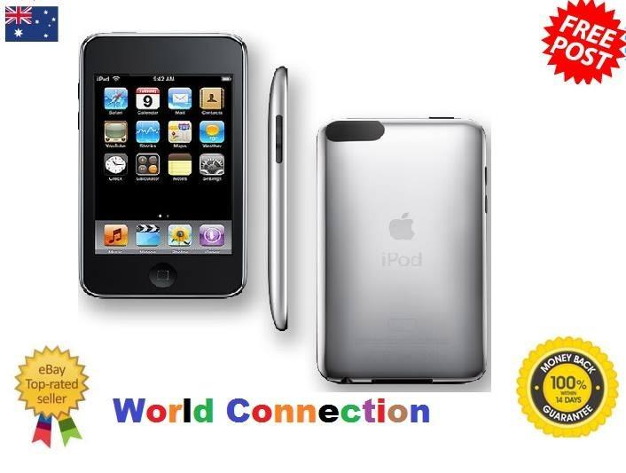 Details about Ipod touch Apple 2nd Generation 8 gb Black 8gb gen mp3    Ipod Touch 2nd Generation 8gb