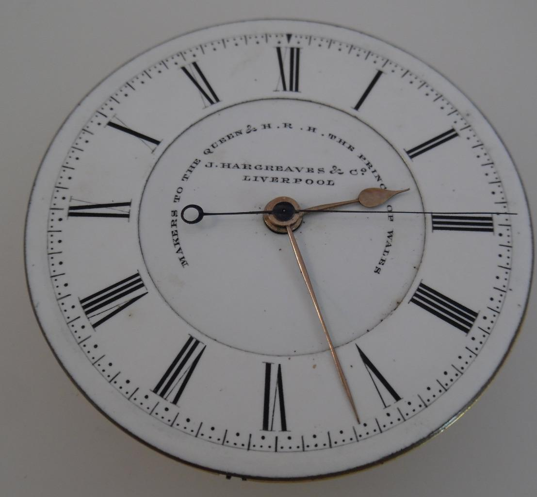Hargreaves Liverpool Center Hack For Sale - Pocket Watches