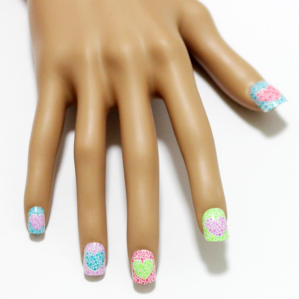 Princess Acrylic Nails
