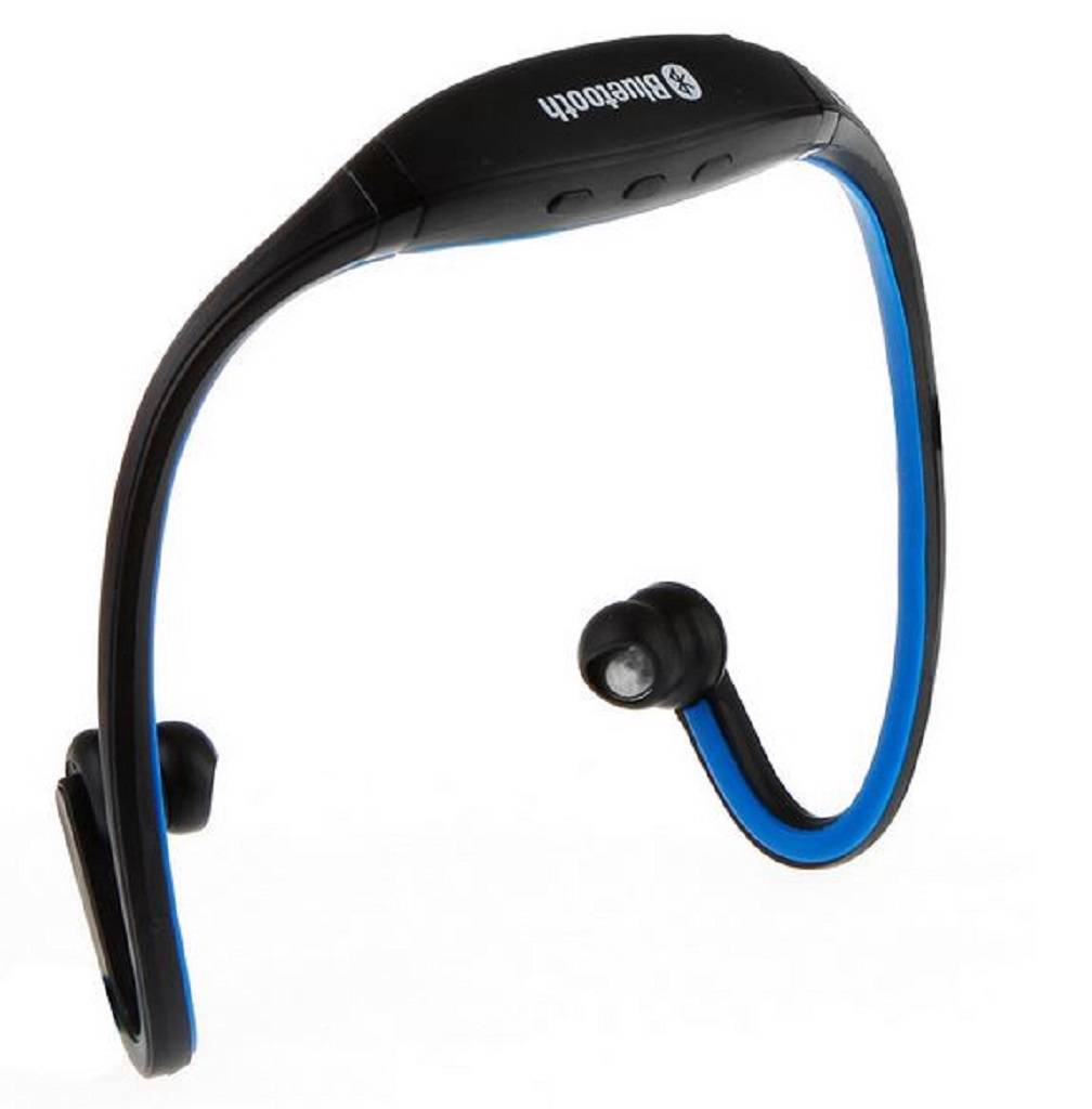 bluetooth wireless headphones headset handsfree iphone htc mobile phones blue ebay. Black Bedroom Furniture Sets. Home Design Ideas
