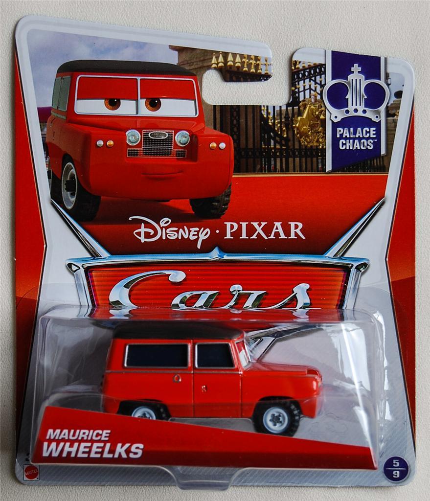 NEW Mattel Disney Pixar 2013 CARS 2 MAURICE WHEELKS