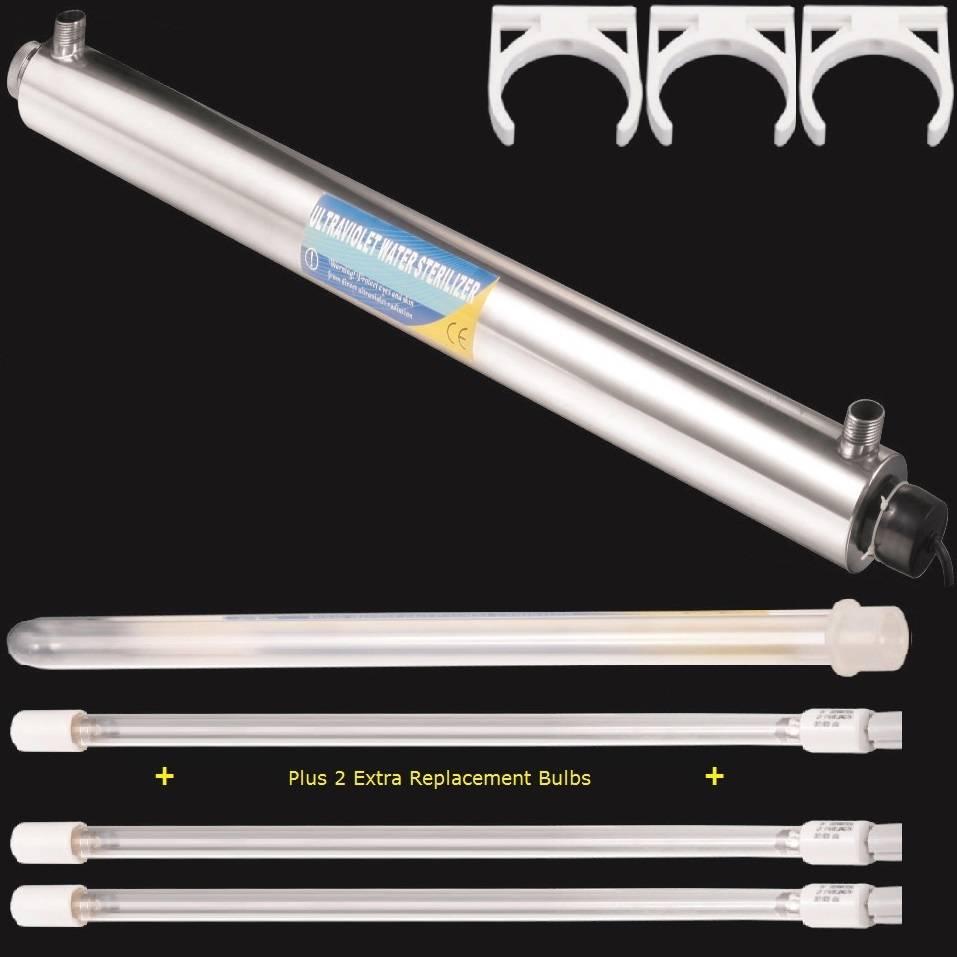 ultraviolet light water purifier whole house uv sterilizer 12 gpm 2. Black Bedroom Furniture Sets. Home Design Ideas