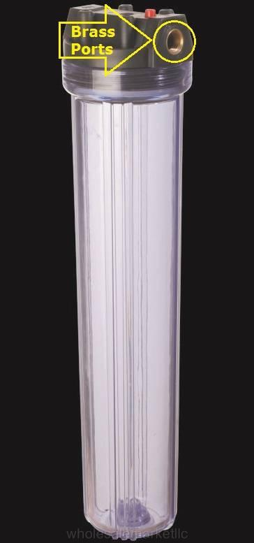 20 Quot Whole House Sediment Water Filter With 2 5 Quot X 20