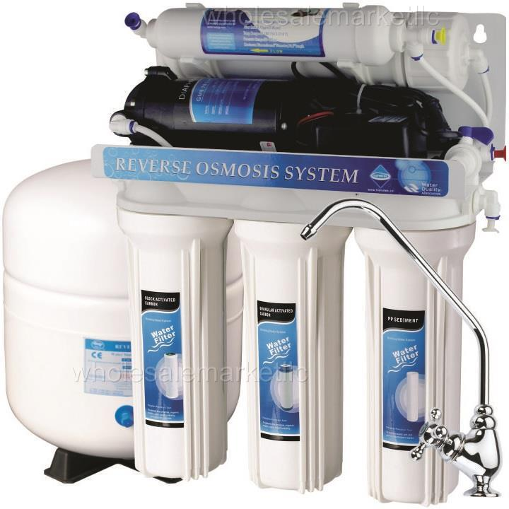 5 Stage Reverse Osmosis With Booster Pump Ro Water Filter