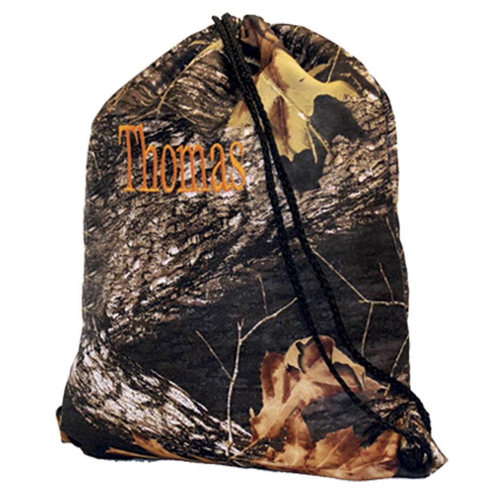 kids boys school camouflage camo woods backpack personalized ...