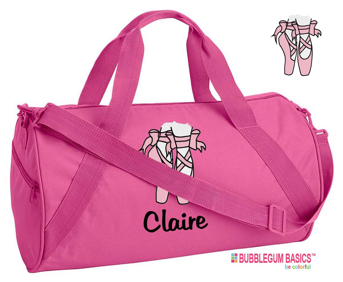 New Personalized Travel Luggage Duffel Duffle Bag DANCE Bag Gym BALLET ...