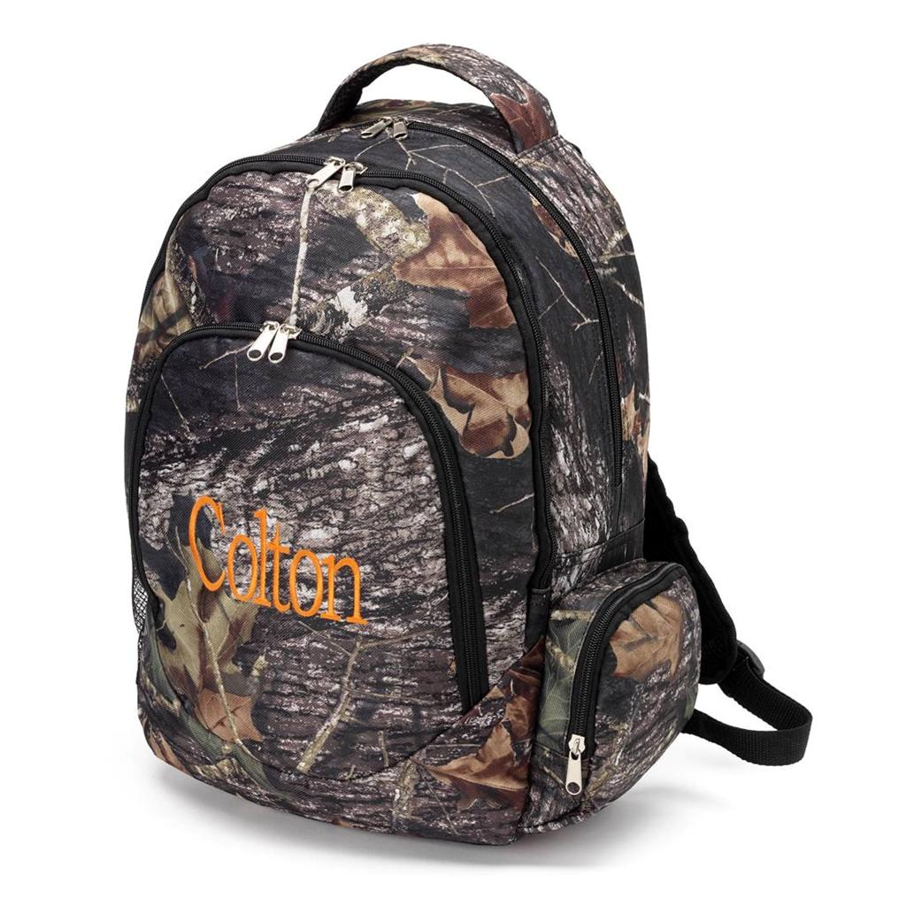 ... backpack personalized embroidered school bag travel camouflage camo