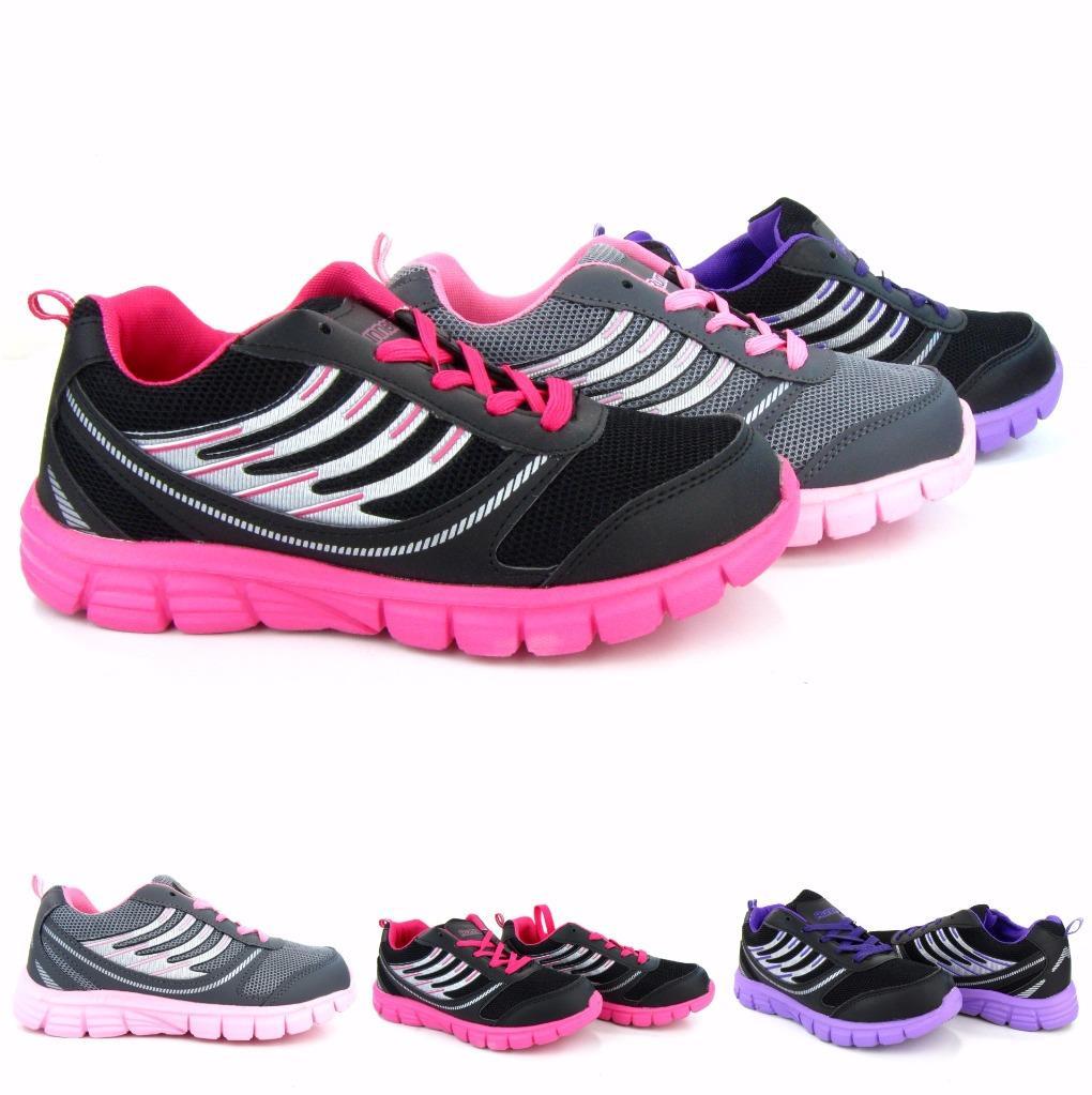 Women's Light Sneakers Running Training Gym Fashion ...