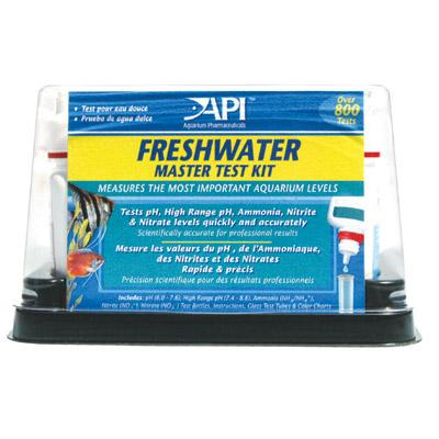 Api Freshwater Master Test Kit High Range Ph Ammonia