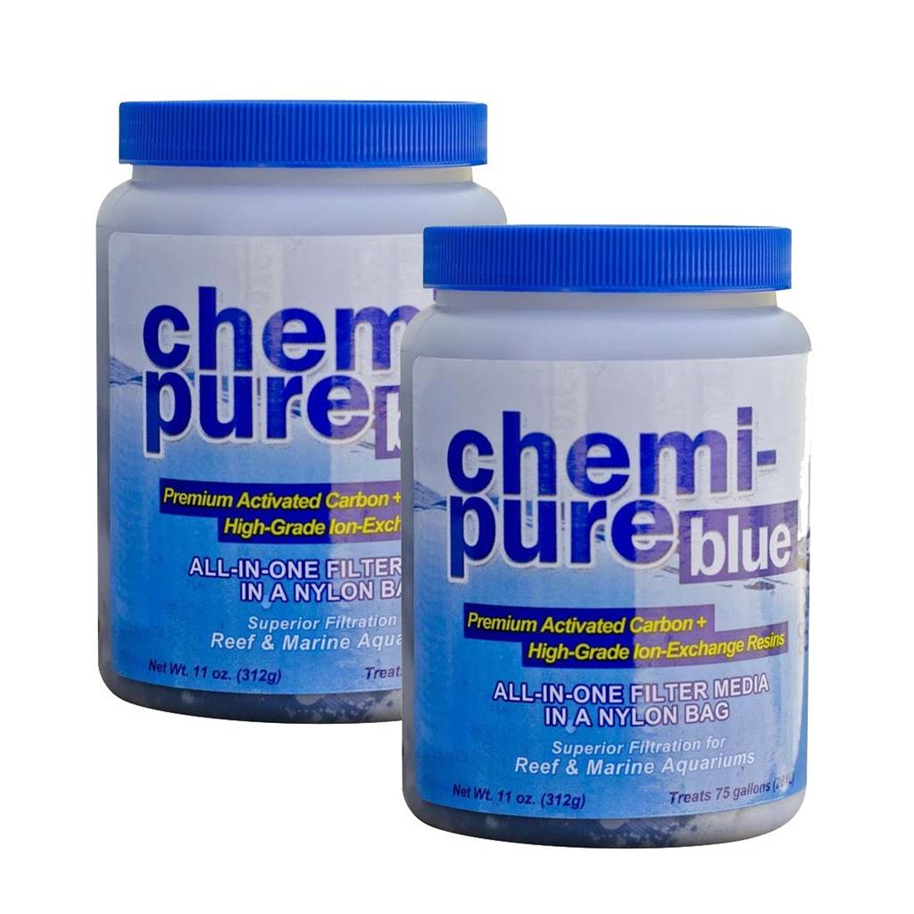 boyd chemi pure blue 11 oz twin pack aquarium filtration media chemipure. Black Bedroom Furniture Sets. Home Design Ideas