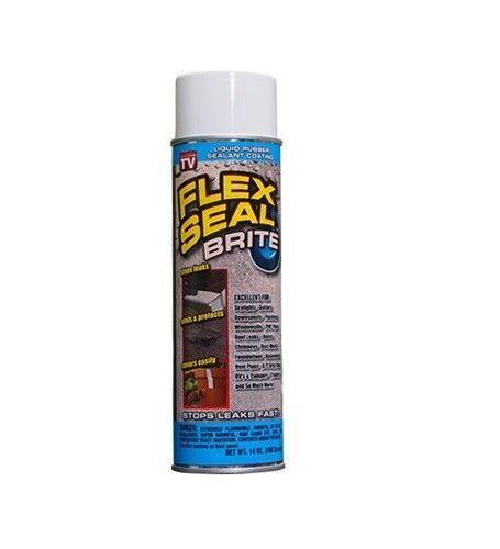 Leak Seal Rubber Coating : Flex seal brite clear leak stopper sealer liquid rubber