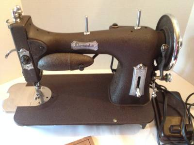 domestic rotary sewing machine
