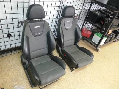 2006 chevrolet cobalt ss recaro bucket seats ebay. Black Bedroom Furniture Sets. Home Design Ideas