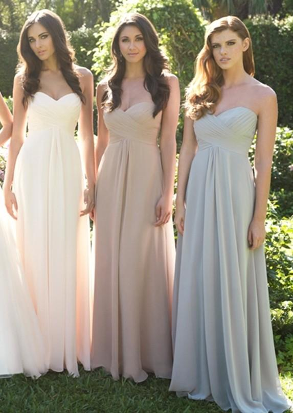 Long Straight Wedding Dresses Of New Custom Size Sweetheart Wedding Party Gowns Straight