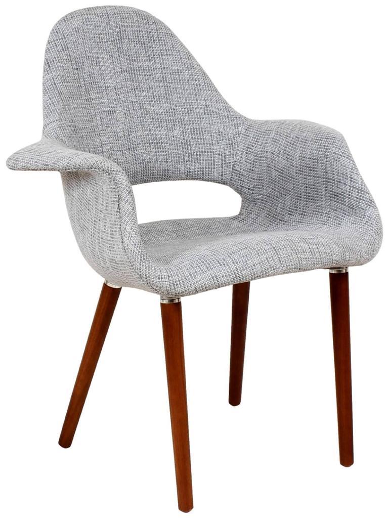 Eames U0026 Saarinen Organic Upholstered Arm Chair