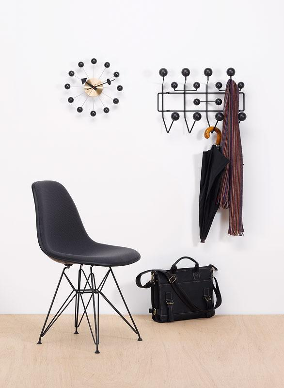 eames style hang it all wall hanger multicolor or walnut white black. Black Bedroom Furniture Sets. Home Design Ideas