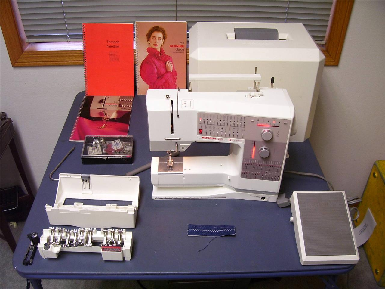 Bernina 1230 Electronic Sewing Quilting machine One Owner in excellent condition