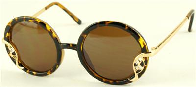 brown lens aviator sunglasses  decoration sunglasses