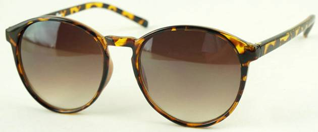 Euramerican latest popular simple retro unisex women Fine box sunglasses 1219