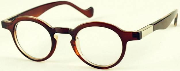 delicate preppy look vintage small frames