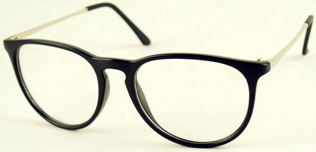 Korean Stylish big box Retro metal alloy frames women men eyeglasses Spectacles