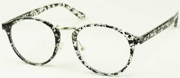 Korean Preppy Look nose design frames Retro women men eyeglasses Spectacles 3034