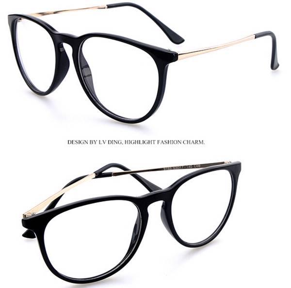 metal preppy vintage retro eyeglasses frames
