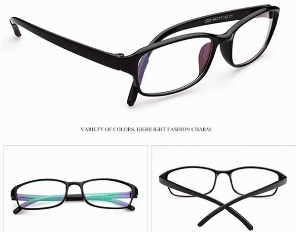 Ultra Lightweight Eyeglass Frames : Ultra-light texture eyeglasses frames fashion men women ...
