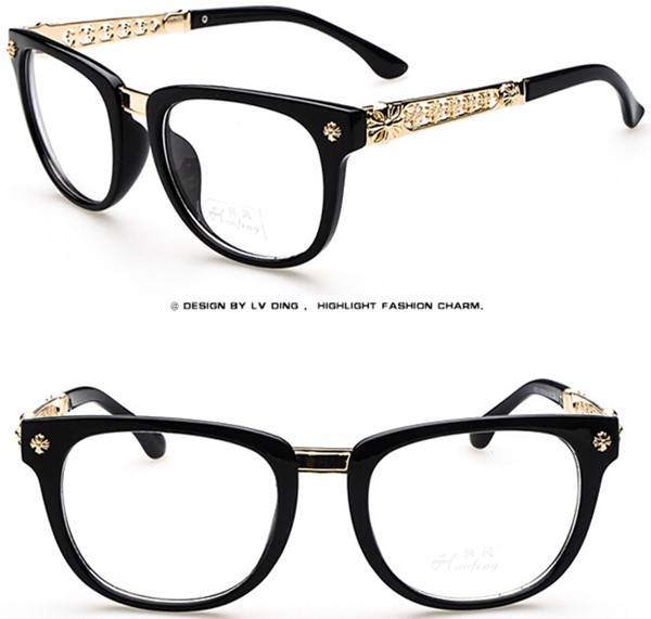 new 2014 hollow out fashion students eyeglasses frames
