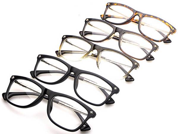 trend korean fashion Retro metal bamboo joint EyeGlasses ...