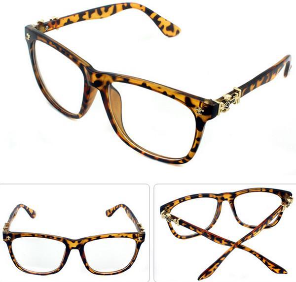 Korea Vintage Retro Big Face Men Women Eyeglass Frames ...