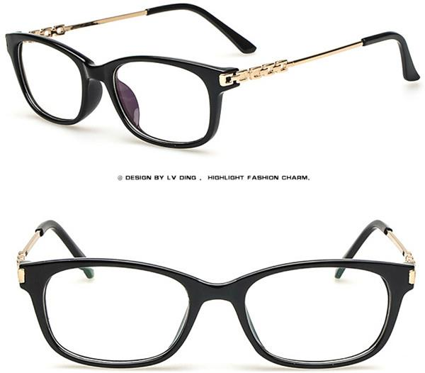 Eyeglass Frame Numbers Mean : Vintage Wayfarer Metal Spectacles Glasses Optical Eyeglass ...
