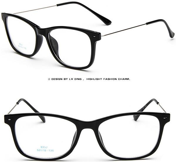 Eyeglass Frame Numbers Mean : Lightweight steel wire Men Women Vintage Eyeglass Frames ...