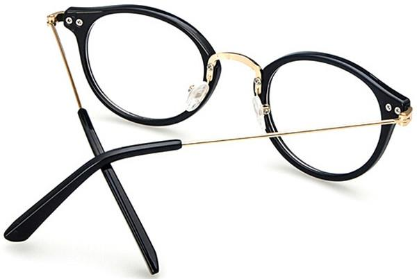 Eyeglass Frame Numbers Mean : fashion 2015 Retro Vintage Eyeglass Frames glasses Clear ...