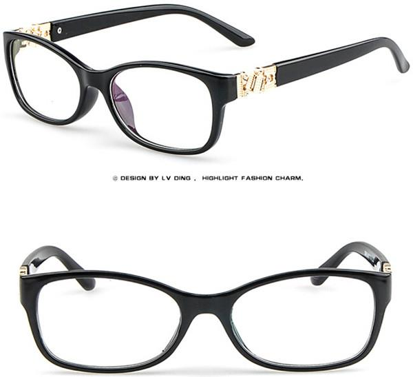 Eyeglass Frame Numbers Mean : Vintage Eyeglass Frames Full Rim Spectacles Retro women ...