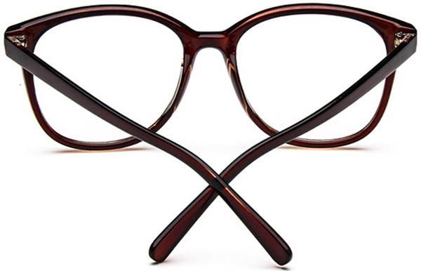 New Fashion Retro clear lens glasses vintage eyeglasses ...