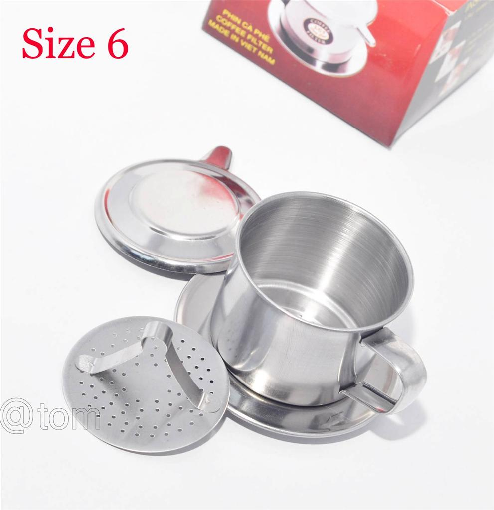 Vietnamese Coffee Filter Press Maker Stainless Steel