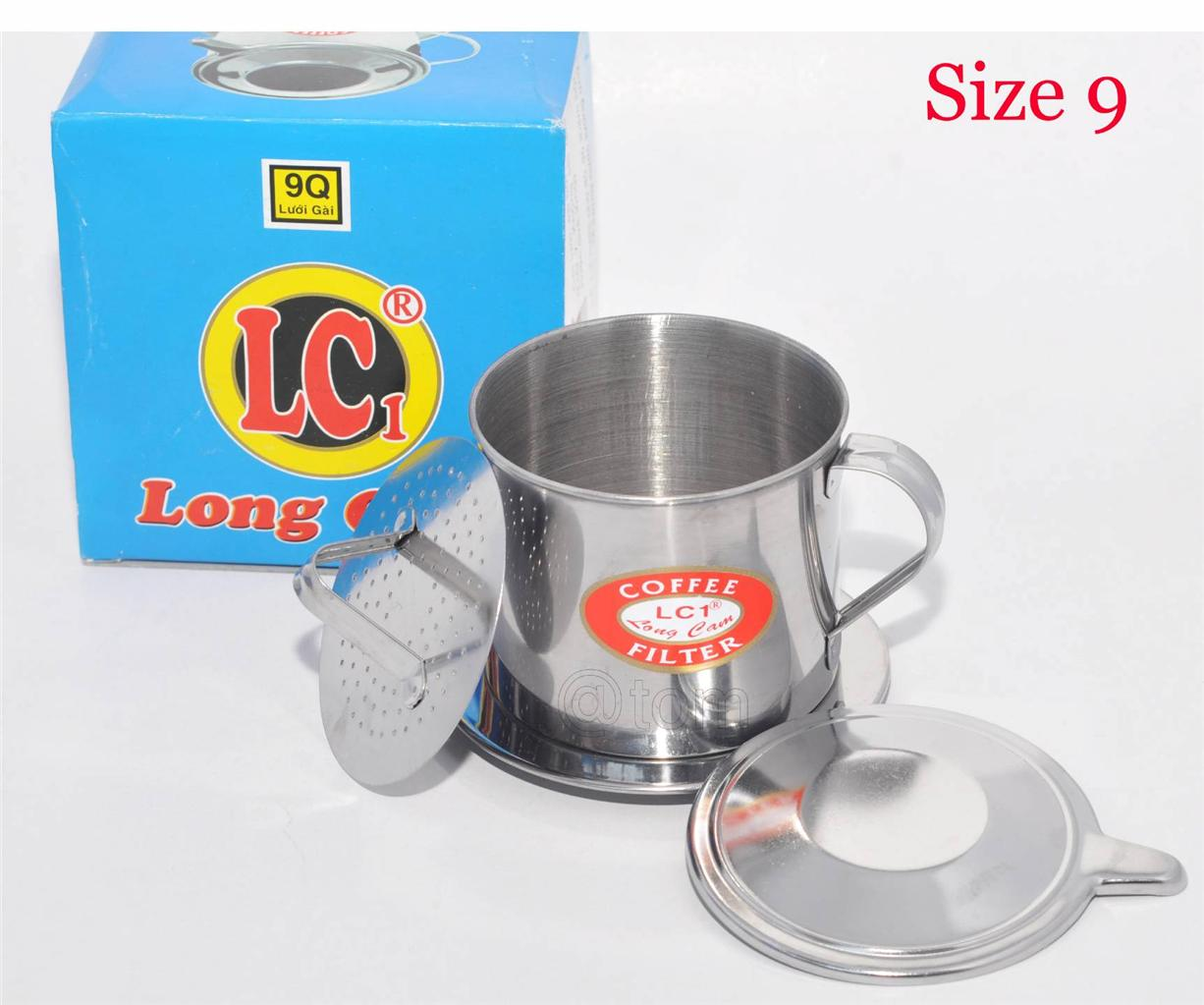 Vietnamese Coffee Filter Press Maker - High Quality Stainless Steel - Big Size 9 eBay