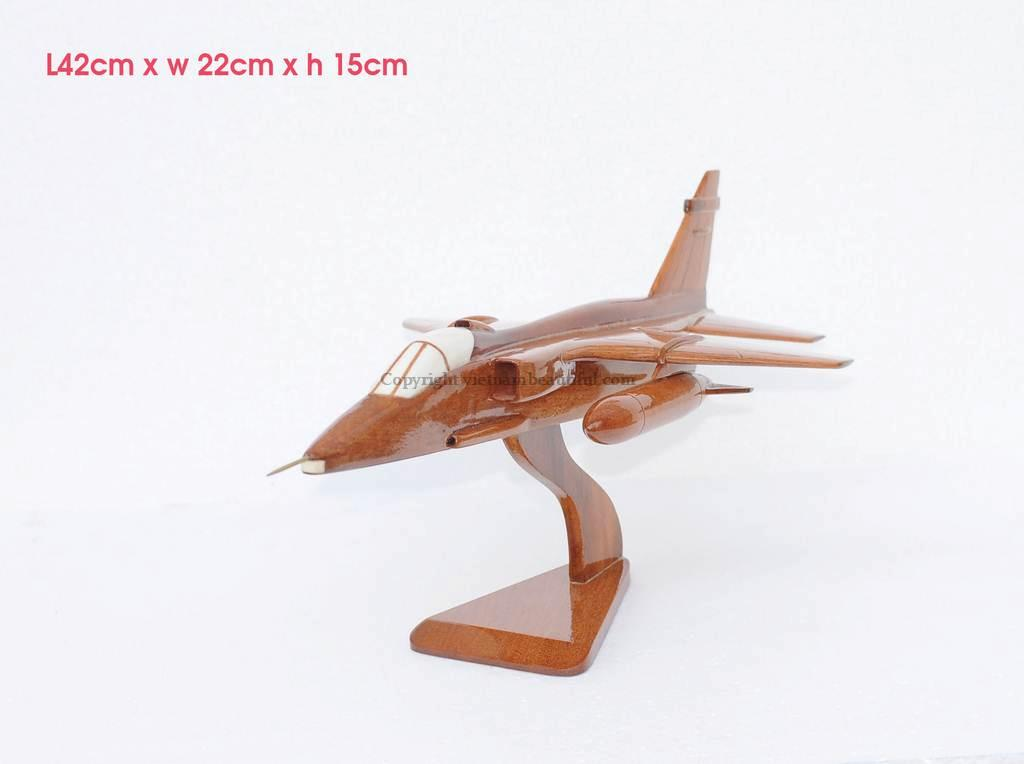 Nord 262 Wooden Airplane Model Handmade Beautiful For
