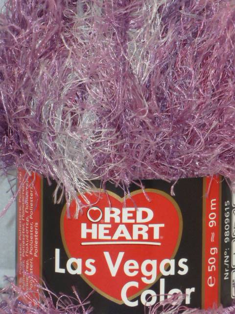 50g Coats Red Heart Las Vegas Eyelash Funky Fur Knitting