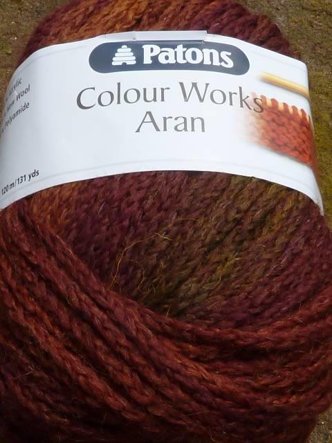 Knitting Works : G patons colour works aran knitting crochet yarn all