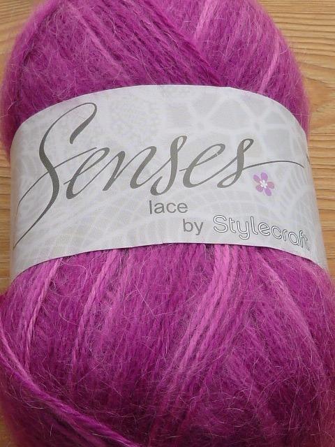 Crochet Patterns For Lace Weight Yarn : STYLECRAFT SENSES LACE WEIGHT KNITTING CROCHET YARN - 50G ...