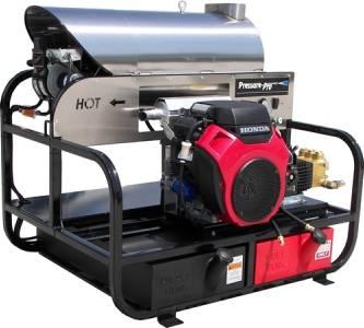 psi gas power belt drive hot water pressure washer honda engine cat pump ebay