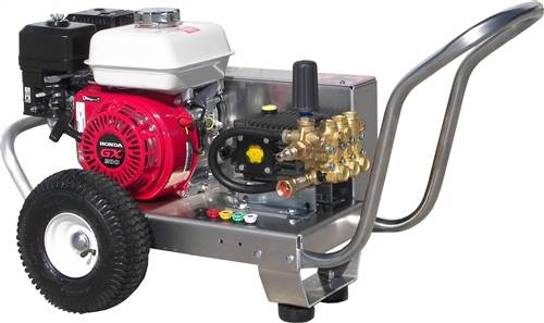 2500 Psi Gas Power Belt Drive Cold Water Pressure Washer