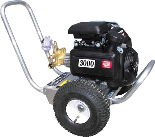 3000 psi gas power direct drive cold water pressure washer for Power washer with honda motor